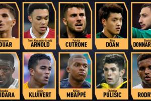 Названы претенденты на приз лучшему молодому игроку от France Football