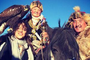 В Монголии прошел фестиваль соколиной охоты
