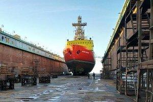 Единственный в Украине ледокол отправили на ремонт