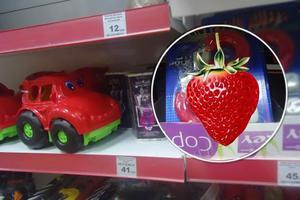 В детском отделе супермаркета Мелитополя выставили секс-игрушки: опубликованы фото