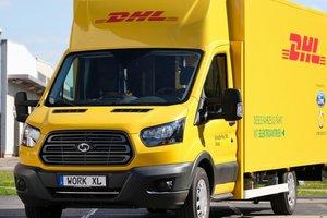Deutsche Post и Ford начали серийный выпуск грузовых электромобилей