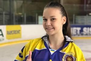 """Единственная девочка в мужской хоккейной команде Полина Лубенец: """"Хотела бы сыграть в НХЛ за """"Питтсбург Пингвинз"""""""