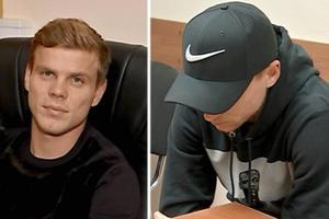 Появилось видео допроса российских футболистов, избивших двух человек