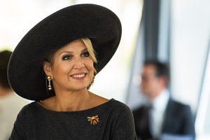Как всегда элегантна: новый выход королевы Нидерландов Максимы