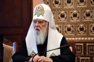 Синод снял с патриарха Филарета анафему и принял решение по Киевской митрополии