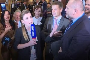Порошенко: Российские журналисты обиделись на гимн Украины в ПАСЕ