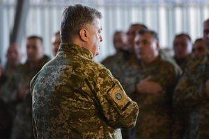 Порошенко отдал боевой приказ военным на Донбассе