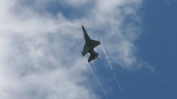 Набельгийской авиабазе взорвался F-16 ВВС Бельгии