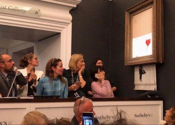 Почему покупательница картины Бэнкси неотказалась отлота