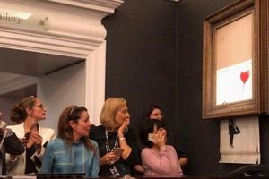 Арт-выходка Бэнкси стала хитом сети: пользователи устроили забавный флешмоб
