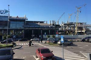 Как расширяют терминал А в аэропорту Киев: фото