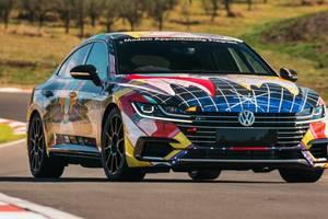 Volkswagen построил 490-сильный  фастбэк Arteon для гонок: видео