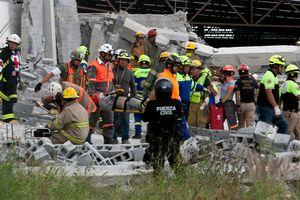 Обрушение здания в Мексике: пять человек погибли и 13 пропали без вести