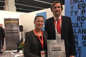 Фонд Рината Ахметова представил истории Мирных Донбасса во Франкфурте