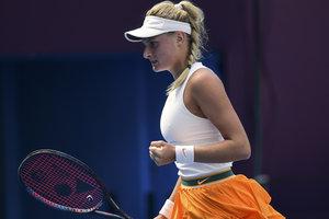 18-летняя украинская теннисистка впервые в карьере вышла в полуфинал турнира WTA