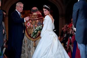 Первые кадры со свадьбы внучки Елизаветы II - принцессы Евгении