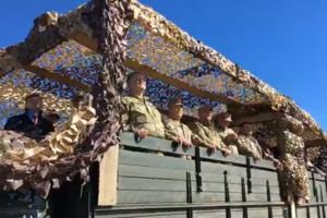 Военные учения на побережье Азовского моря: Порошенко опубликовал видео
