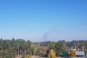 Взрывы под Ичней: ГСЧС показала, как тушит пожары на арсенале