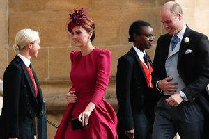 А говорила, что не придет: Кейт Миддлтон прибыла на свадьбу принцессы Евгении