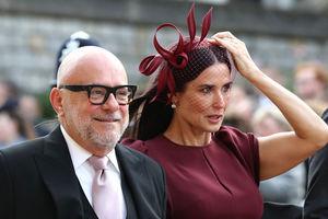 В шляпке с вуалью: Деми Мур на свадьбе принцессы Евгении