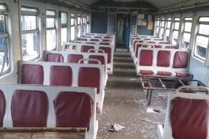Полиция нашла семерых парней, разгромивших вагон электрички Киев-Фастов