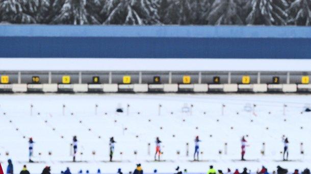 Российская Федерация  позволила  ряду биатлонистов выступать за«дружескую» Украинское государство