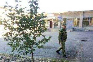 Військові пояснили падіння снаряда на подвір'я школи в Лисичанську