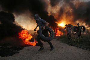 Семь палестинцев убиты, более 250 пострадали в стычках с израильтянами в Газе