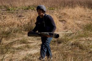 Пожар на арсенале в Ичне: продолжают греметь одиночные взрывы