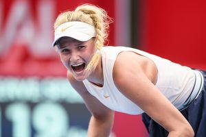 Даяна Ястремская впервые в карьере вышла в финал турнира WTA