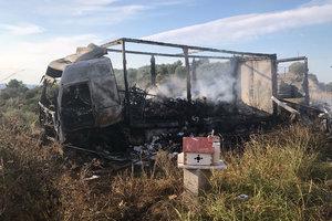 Жуткое ДТП в Греции: 11 человек сгорели заживо