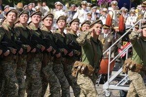 День захисника України перестав бути виключно чоловічим святом - президент