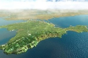 У берегов оккупированного Крыма затонул теплоход