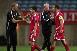 Сборная Гибралтара выиграла первый официальный матч в своей истории