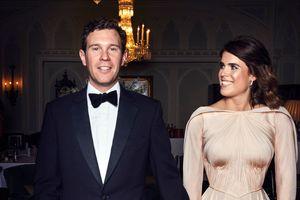 В платье цвета розового золота от Zac Posen: вечерний выход принцессы Евгении