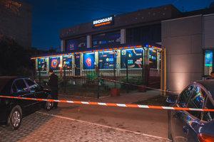 В Киеве на Харьковском 40 человек устроили драку со стрельбой