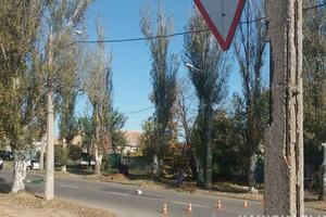 В Донецкой области легковушка насмерть сбила пенсионера-велосипедиста