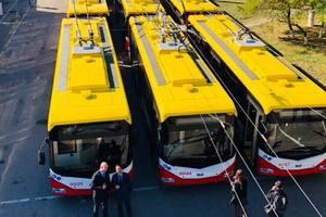 В Одессе появились 47 новых троллейбусов