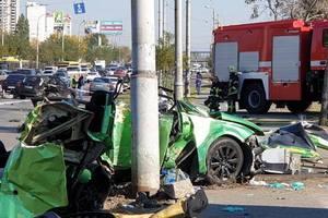 В Киеве арестован водитель, устроивший смертельное ДТП возле Sky Mall