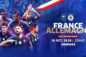 Где смотреть матч Лиги наций Франция - Германия
