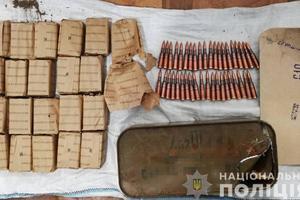 В Запорожской области мужчина добровольно сдал немалый арсенал боеприпасов