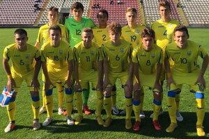 Украина U-17 с первого места вышла в элит-раунд чемпионата Европы
