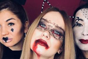 Как сделать самый страшный макияж на Хэллоуин