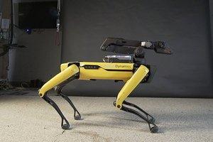 """Забавное видео: Boston Dynamics научили робота-собаку вилять """"бедрами"""" под музыку"""