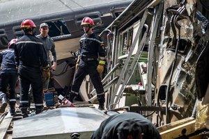 Авария пассажирского поезда в Марокко: число жертв возросло