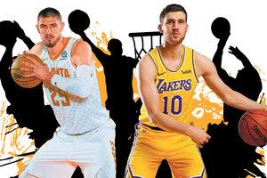 Перспективы украинцев в НБА: ястреб-Лэнь бьет издали, Михайлюка подтянет Леброн