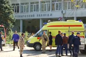 Теракт в Керчи: очевидцы рассказали о стрельбе в колледже перед взрывом
