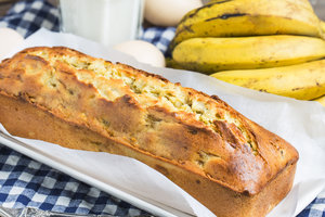 Рецепт дня: банановый хлеб с орехами и сухофруктами