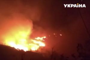 В дачном городке под Одессой вспыхнул крупный пожар: сгорели 16 домов