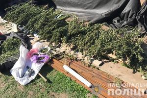 В Запорожской области копы изъяли оружие и наркотики на два миллиона гривен